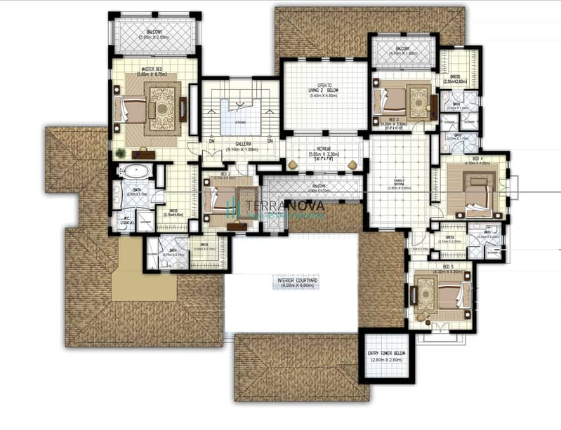 35 Polo Field | F Types | Upgraded | Vacant