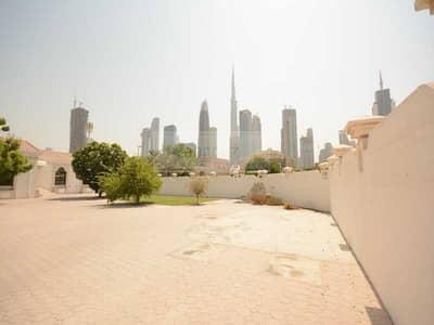 5 Bedroom Villa for Sale in Al Wasl, Dubai - GCC Buyer Deal | Burj Khalifa View | Massive Plot