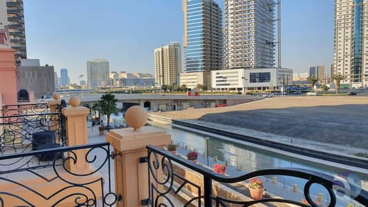 1 Bedroom Apartment for Rent in Dubai Sports City, Dubai - Canal View    Branded Fully Furnished   Balcony   Well Maintain