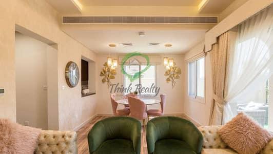 تاون هاوس 3 غرف نوم للبيع في سيرينا، دبي - Furnished 3 BR+Maids | Single Row  Type B| Park & Pool Facing | Corner Unit
