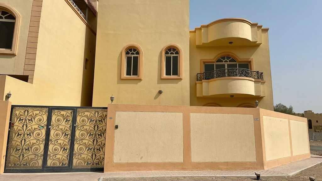 Huge 4 Bedroom Double Storey Villa with Maids Room in Mowait 1 Ajman