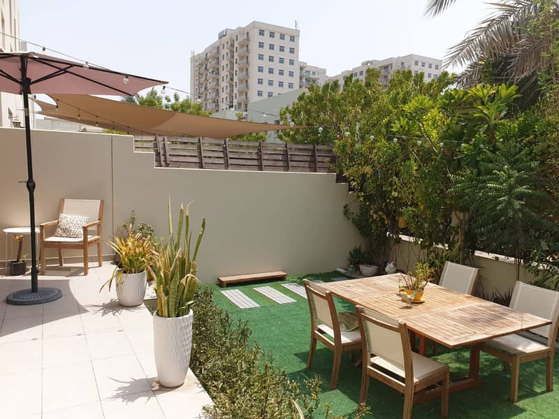 Best Deal for Investment |  Type B  Quortaj Townhouse | Rented 3 Bedroom Plus Maids-room | Available for Sale