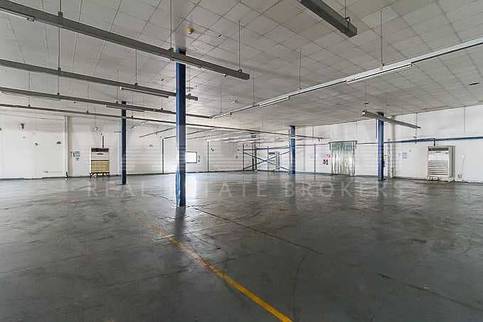Cheapest in JAFZA 1800Kw Power warehouse for Rent in JAFZA