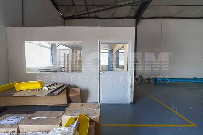 2 Cheapest in JAFZA 1800Kw Power warehouse for Rent in JAFZA