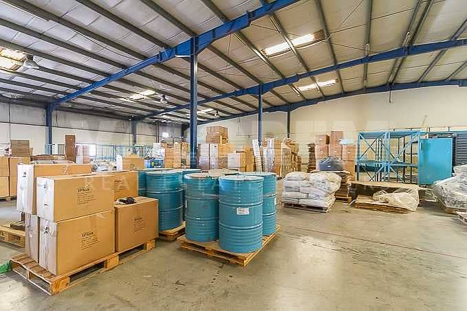 20 Cheapest in JAFZA 1800Kw Power warehouse for Rent in JAFZA