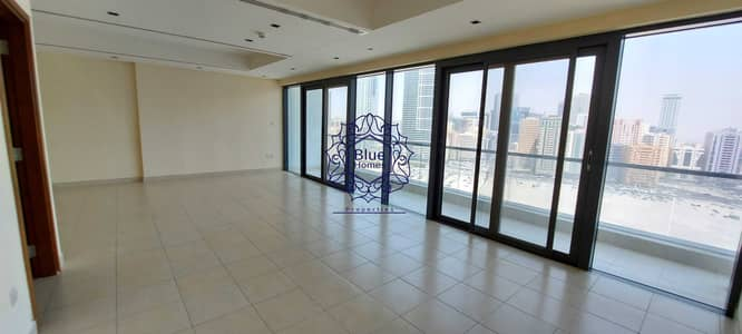 3 Bedroom Flat for Rent in Al Mamzar, Sharjah - Luxury Chiller Free 3BR All Master with Gym Pool 65k