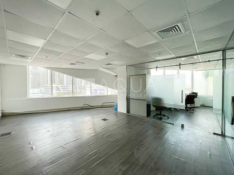 Fitted Office w/ Furniture and Partition