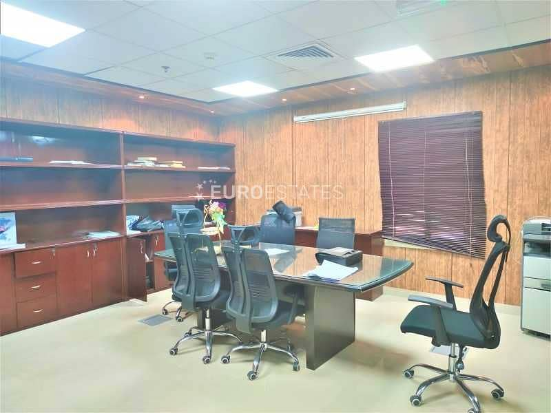 Fully Furnished | Spacious Office | Prime Location