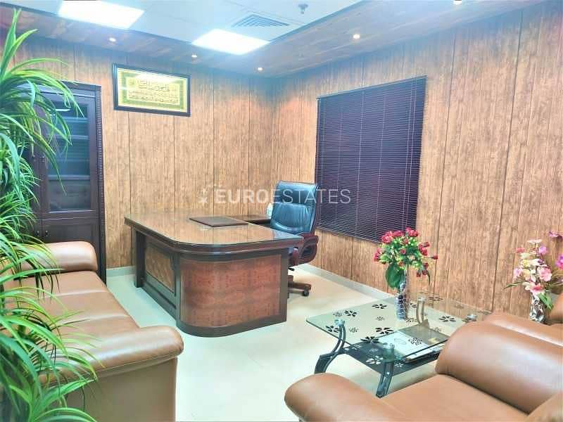 2 Fully Furnished | Spacious Office | Prime Location