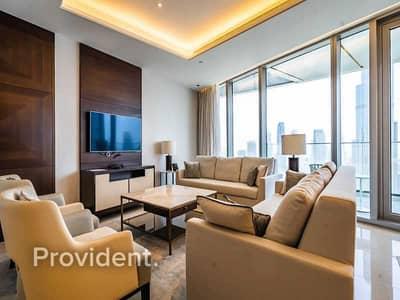 3 Bedroom Flat for Sale in Downtown Dubai, Dubai - Fully Furnished l Vacant l Burj Khalifa view