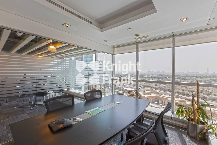 DMCC Free Zone | Fitted with Partition Office