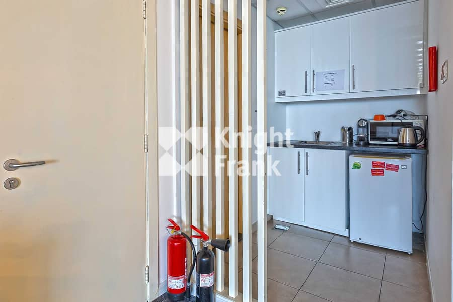 12 DMCC Free Zone | Fitted with Partition Office