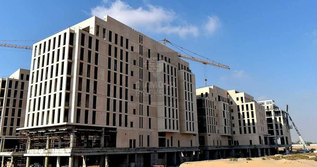 Al Mamsha smart home apartment with AED 2700  monthly