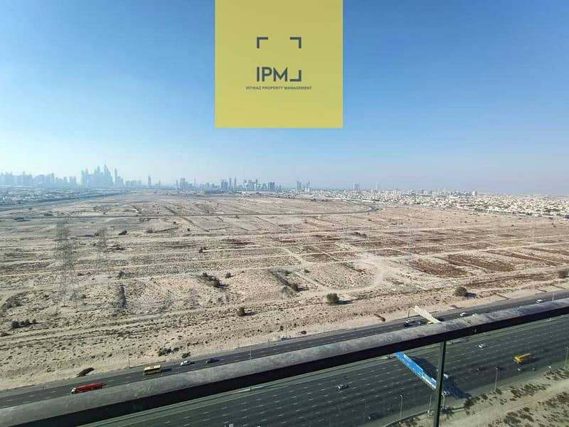 12 Brand New  Studio with a Great view of Dubai Skyline