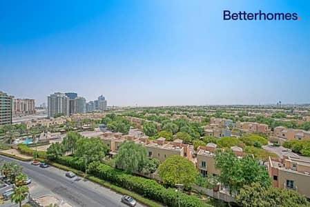 شقة 1 غرفة نوم للبيع في مدينة دبي الرياضية، دبي - Unfurnished | Golf Course View | Chiller Free