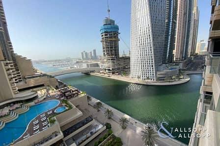 2 Bedroom Apartment for Sale in Dubai Marina, Dubai - Sea and Marina Views   2 Bedrooms   Vacant