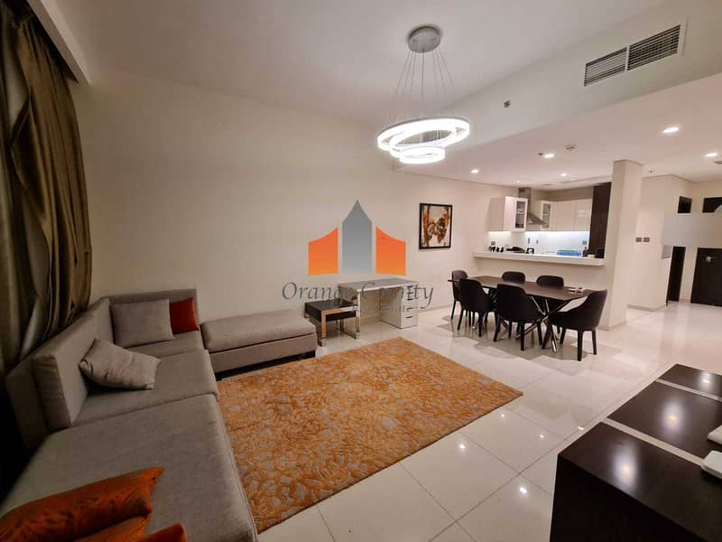 Full Golf view| Fully Furnished|Big Terrace|Maid's room|