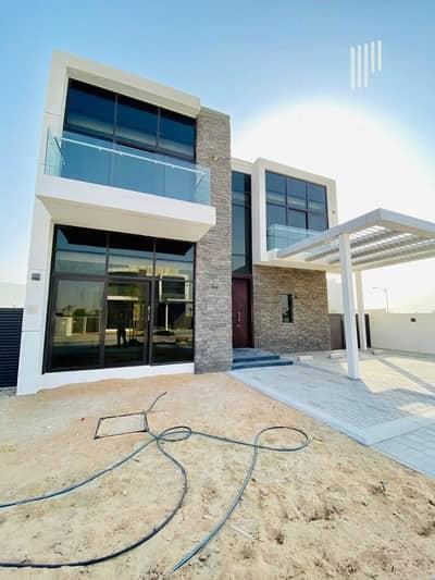 فیلا 5 غرف نوم للبيع في داماك هيلز (أكويا من داماك)، دبي - PRIVATE 5 BED MAID SINGLE ROW VILLA