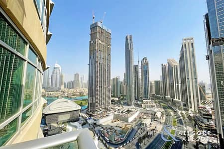 1 Bedroom Flat for Sale in Downtown Dubai, Dubai - 1 Bed | Opera and Sea View | Available Now
