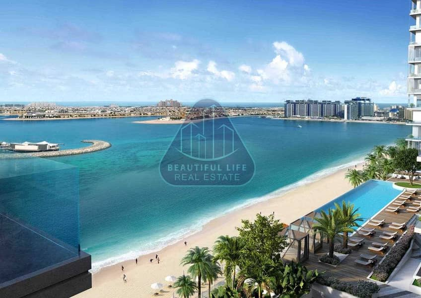 18 3BR+Maidroom | Exclusive Beach Access |3.5 Years Payment Plan