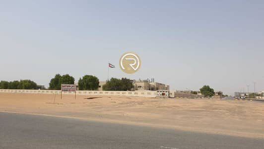 Plot for Sale in Al Jurf, Ajman - lands for sale -best location-installments 18 months for the citizens