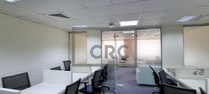 Office for Rent in Al Safa, Dubai - Fully Fitted | Partitioned | Near Metro | Low Rent