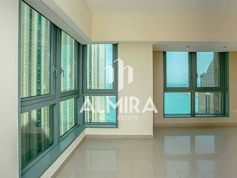 High Floor I Sea View 3BR w/ huge balcony