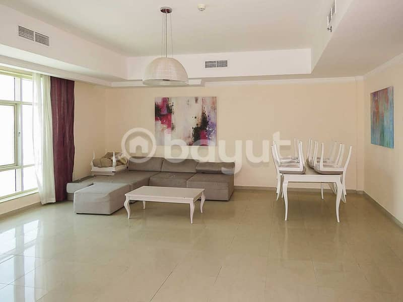 2 BHK FURNISHED  14 MONTHS CONTRACT CHILLER BILL FREE 
