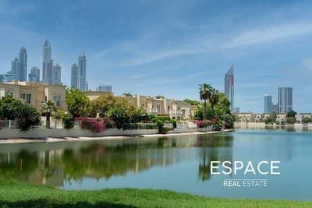 فیلا 3 غرف نوم للبيع في البحيرات، دبي - Upgraded B Middle   Stunning Lake Views
