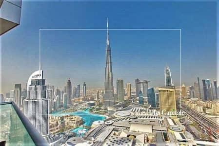 2 Bedroom Flat for Sale in Downtown Dubai, Dubai - Corner Series    High floor    Fountain Views
