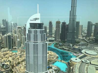 3 Bedroom Flat for Sale in Downtown Dubai, Dubai - Full Fountain View    Middle Series    High Floor
