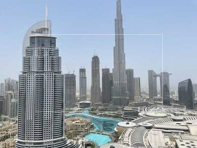 2 Bedroom Flat for Sale in Downtown Dubai, Dubai - Middle Series   Burj & Fountain Views   Vacant