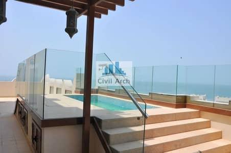 4 Bedroom Apartment for Sale in Palm Jumeirah, Dubai - 7530 sqft-4br Duplez+Pvt Pool+Full Sea Views-Upgraded
