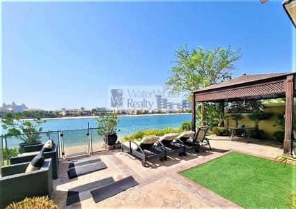 5 Bedroom Villa for Sale in Palm Jumeirah, Dubai - 5BR Garden Home Villa I Full Sea & Atlantis View