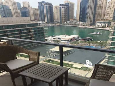 1 Bedroom Apartment for Rent in Dubai Marina, Dubai - Fully Furnished | Massive 1Bed + Maid | High Floor