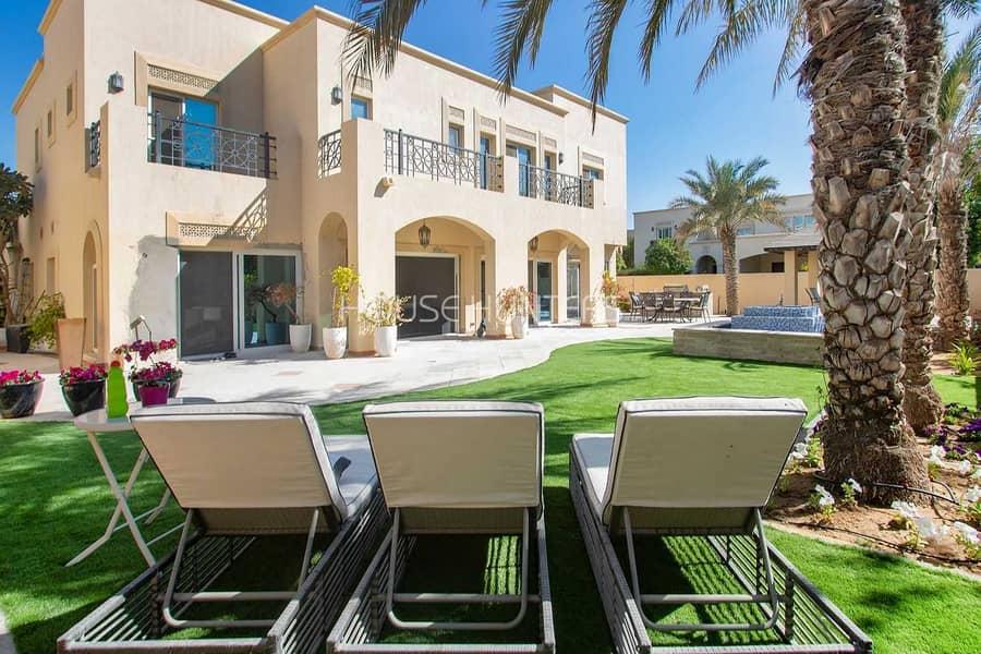 Al Mahra| Fully Upgraded Villa|Opposite Pool 5 Bed