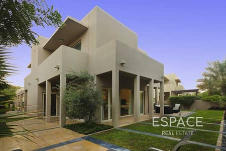 3 Bedroom Villa for Rent in Arabian Ranches, Dubai - Type 7 - Backing onto Park - 3 Bedrooms