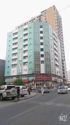 Apartment for rent in a prime location in Ajman, Al Rumaila area, close to Al Hout Supermarket