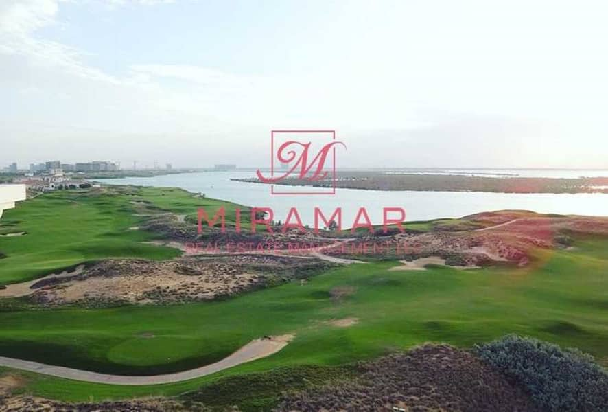 FULL SEA AND GOLF VIEW | LARGEST BALCONY | HIGH FLOOR