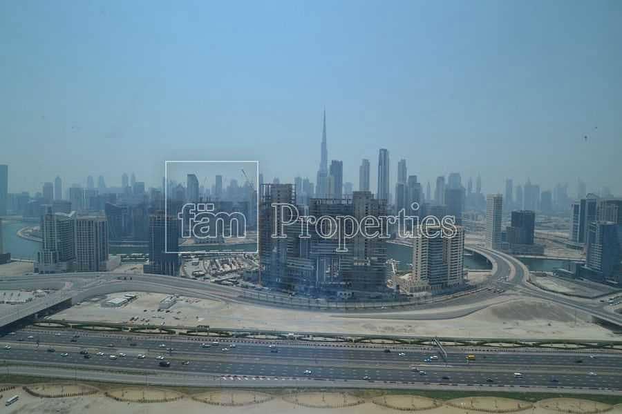 full Burj Khalifa view |  Mid floor | call today