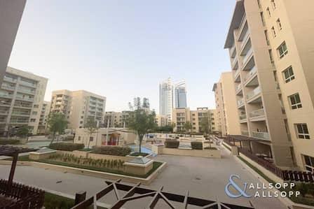 فلیٹ 1 غرفة نوم للايجار في الروضة، دبي - Balcony | 1 Bedroom | Courtyard Facing