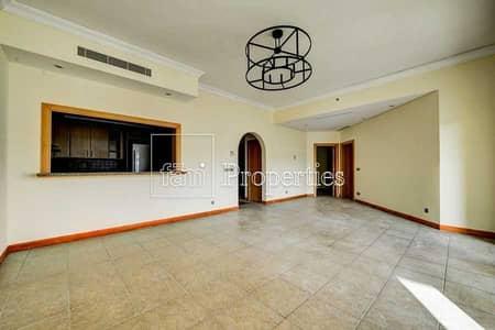 شقة 2 غرفة نوم للايجار في نخلة جميرا، دبي - 2 bhk | E type | Shoreline | E Type