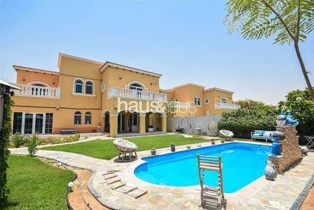 فیلا 5 غرف نوم للبيع في جميرا بارك، دبي - Fully Upgraded   Large Private Pool  