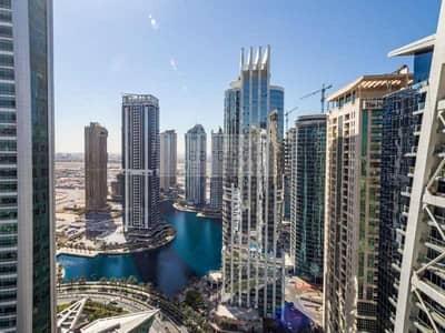 فلیٹ 1 غرفة نوم للايجار في أبراج بحيرات الجميرا، دبي - Fully-Furnished 1BR w/ Large Balcony |  Full Lake View | Exclusive