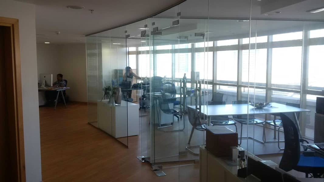 5 FULLY FITTED OFFICE FOR  RENT | CONVENIENT LOCATION | VERY NEXT TO METRO STATION
