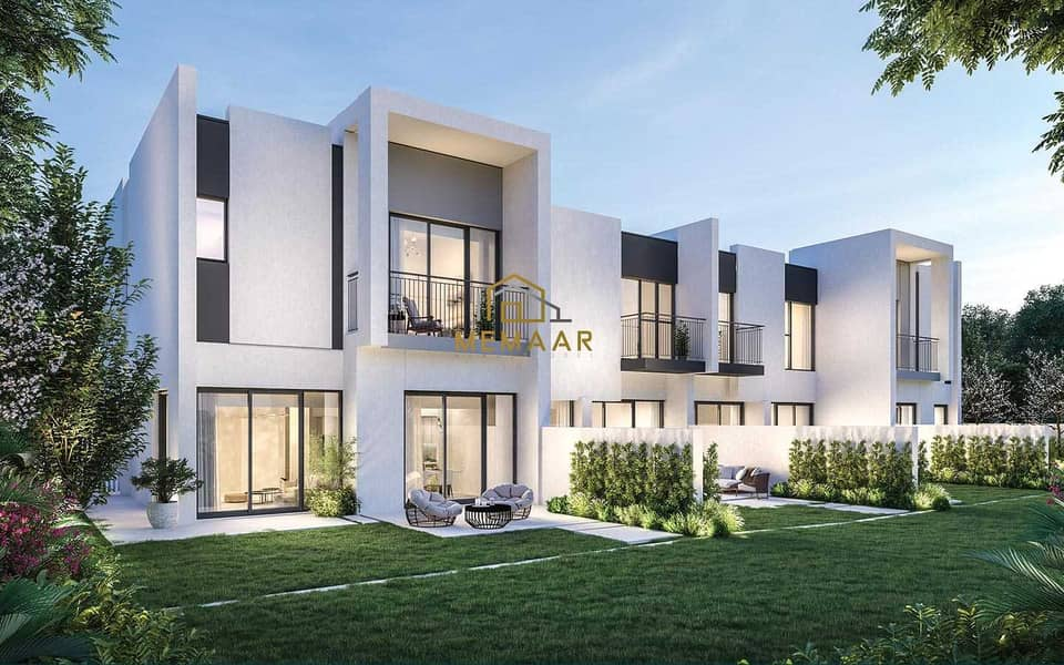 For sale villas in La Rosa 4 project, with a down payment of 64,000, and installments from the developer over 5 years