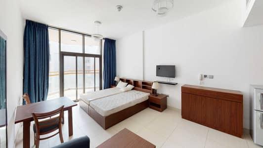 استوديو  للايجار في واحة دبي للسيليكون، دبي - Furnished   1 Month free   Free maintenance