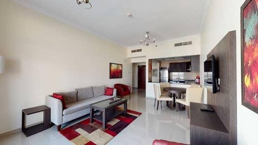 شقة 1 غرفة نوم للايجار في أرجان، دبي - Furnished   Open kitchen   Community view