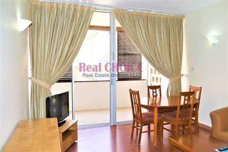 شقة فندقية 1 غرفة نوم للايجار في مركز دبي التجاري العالمي، دبي - Furnished Serviced |SZR Near Metro |Free Utilities
