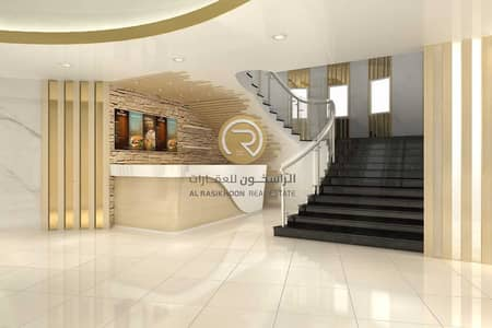 Building for Sale in Al Jurf, Ajman - Business center building for sale in best location-good ROI-Freehold